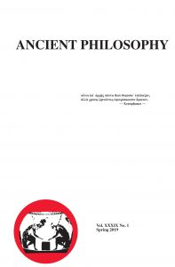 Ancient Philosophy cover