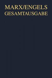 Ökonomische Manuskripte 1857 58 Band 1