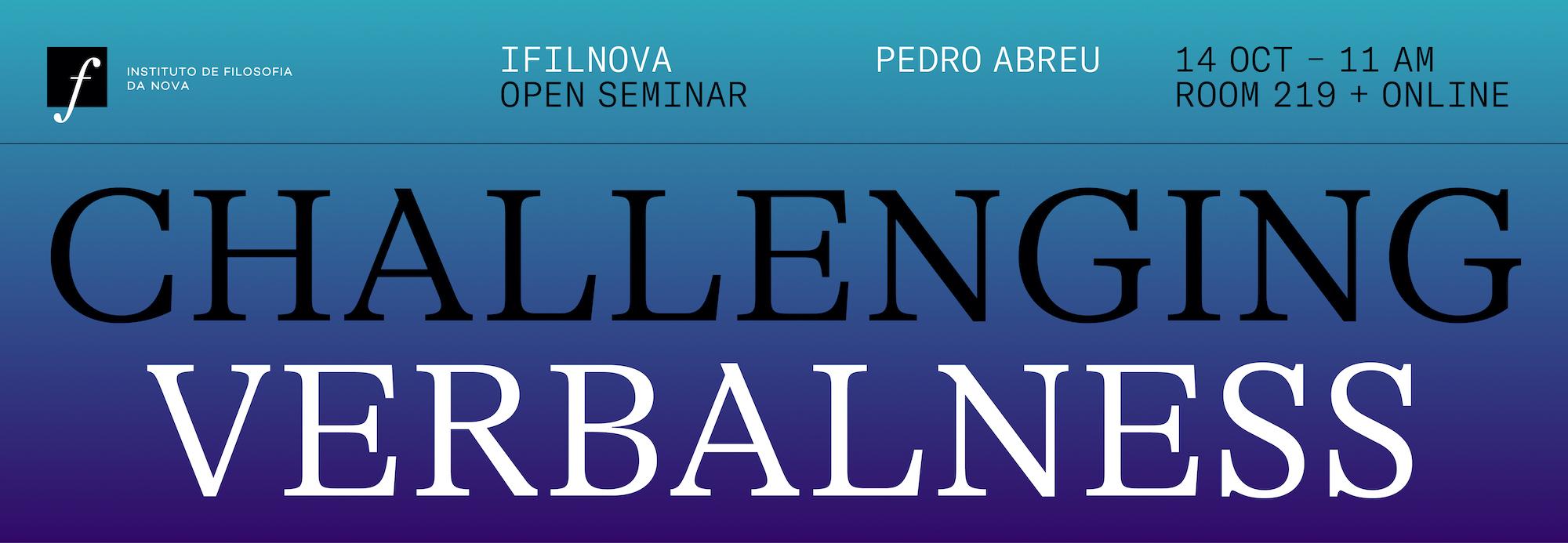 Challenging Verbalness banner 1
